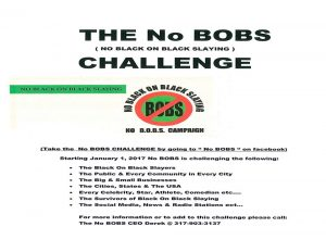 NO BOBS Official Flyers