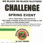 NO BOBS Challenge Flyer
